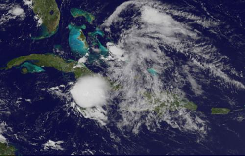 NASA sees Chantal weaken to a remnant