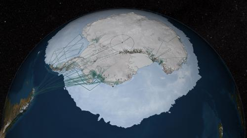 NASA's IceBridge mission contributes to new map of Antarctica