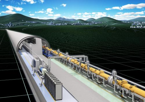 New 31-km-long International Linear Collider ready for construction