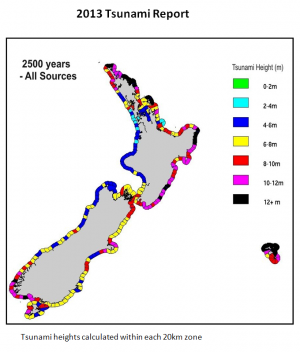 New report updates New Zealand's exposure to tsunami