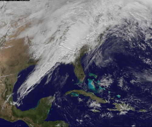 NOAA and NASA's next generation weather satellite may provide earlier warnings