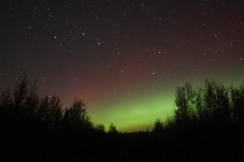 Overnight aurora sets sky on fire, more possible tonight