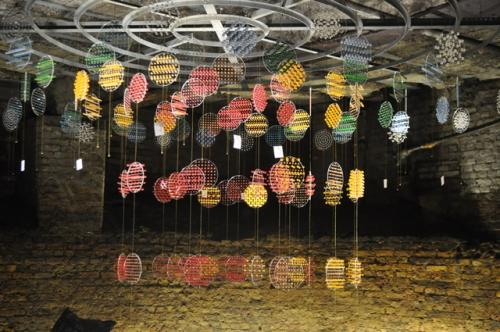 Particle physics-inspired art installation opens in London ice well