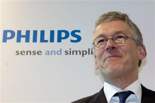 Philips loss shrinks in Q4; sheds division
