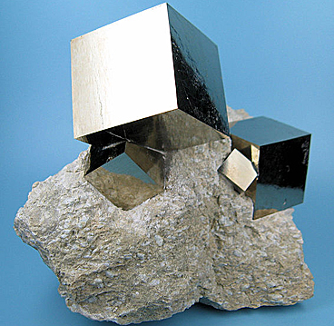 Probing the surface of pyrite