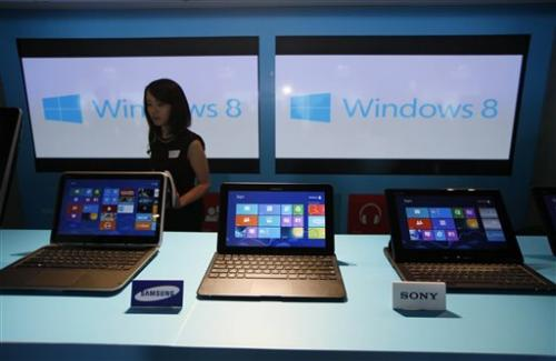 Research firm: PC sales plunge as Windows 8 flops