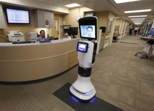 Robots let doctors 'beam' into remote US hospitals