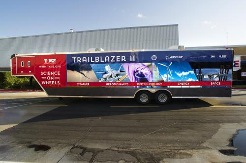 Science lab-on-wheels will 'trailblaze' a path to inspire hundreds of thousands of students