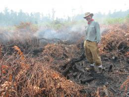 Scientist tracks Indonesian carbon emissions