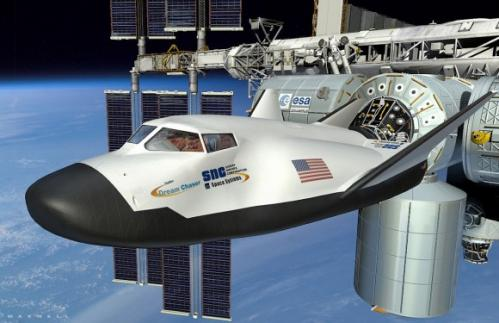 Sierra Nevada dream chaser gets wings and tail, starts ground testing