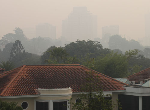 Singapore pollution reaches hazardous levels