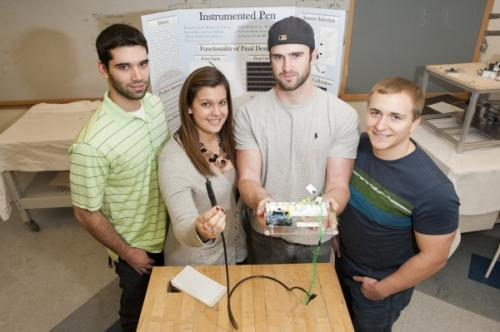 Smart pens to help control hand tremors