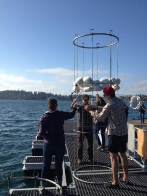 Space-age domes offer a window on ocean acidification