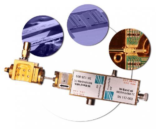 Terahertz sensor aiming for Jupiter´s moons