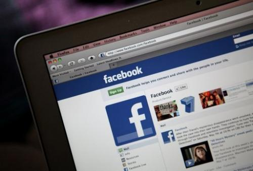 The Facebook site is displayed on a computer on May 9, 2011 in California