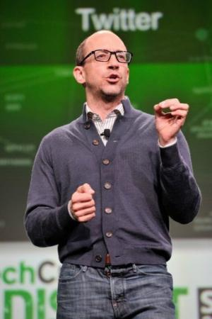 Twitter CEO Dick Costolo attends TechCruch Disrupt SF 2013 in San Francisco on September 9, 2013