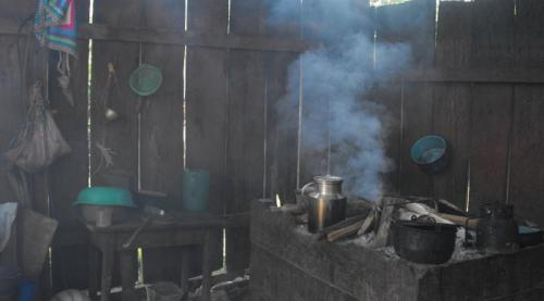 Ventilation may be key to reducing toxic chemical inhalation from biomass fire cooking