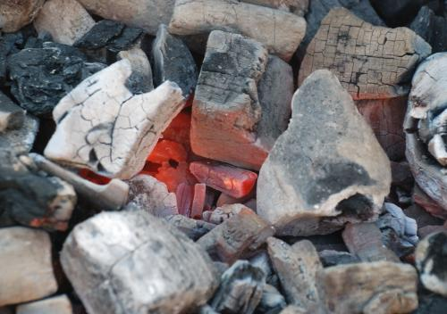 Where does charcoal, or black carbon, in soils go?