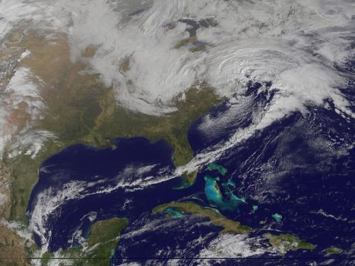 Winter storm hits the Mid-Atlantic