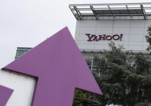 Yahoo! headquarters in Sunnyvale, California, on July 17, 2012