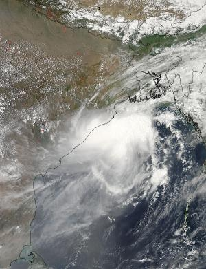 NASA satellites eye Cyclone Mahasen as Bangladesh prepares for landfall