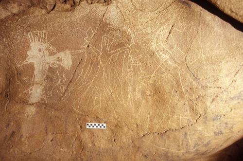 University of Tennessee professor finds prehistoric rock art connected; maps cosmological belief