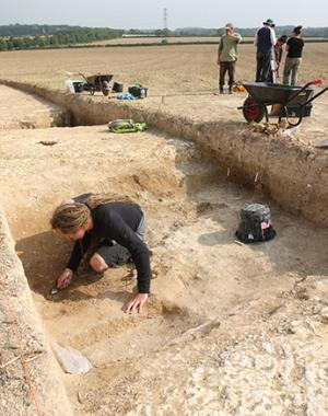 Archaeological dig uncovers sink hole of evidence from Neolithic period