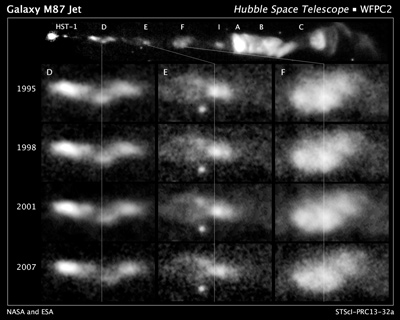 Astronomers Use Hubble Images for Movies Featuring Space Slinky