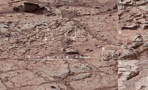 Curiosity rover preparing to drill into first martian rock