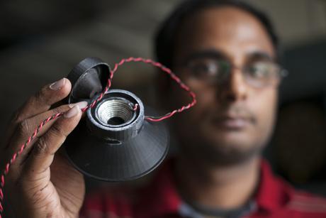 Fully functional loudspeaker is 3-D printed