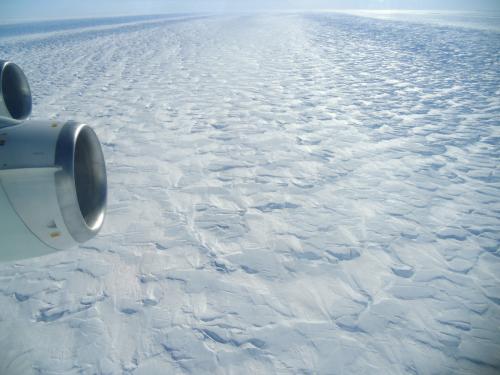 Huge iceberg breaks away from the Pine Island glacier in the Antarctic