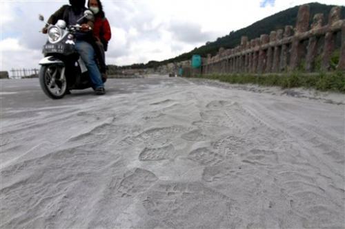 Indonesian volcano spews ash into sky; no one hurt
