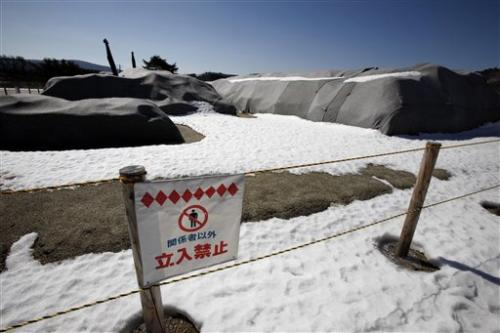 Japan's cleanup lags from tsunami, nuke accident