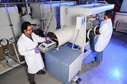 Laser research could benefit nuclear recycling