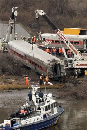 NYC train derailment airs queries about technology