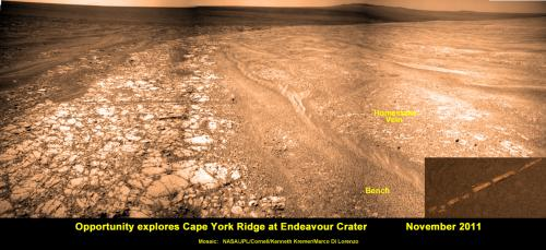 Opportunity rover starts year 10 on Mars with remarkable science discoveries