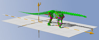 Scientists teach largest dinosaurs to walk