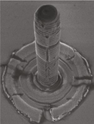 Semiconductor micropillar