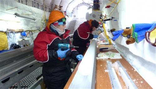 Deep Antarctic dig seeks pointers to sea level