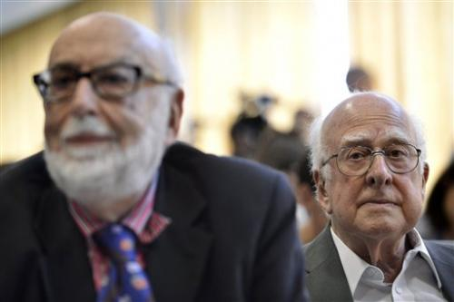 Englert and Higgs win Nobel physics prize