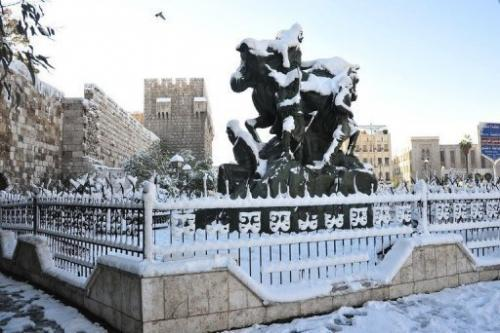 Image provided by the Syrian Arab News Agency on January 10, 2013 shows the Fortress of Saladin in Damascus