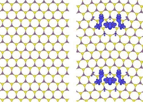 Nano magnets arise at 2-D boundaries