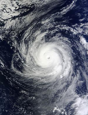 NASA sees Super-typhoon Lekima ready to make the curve