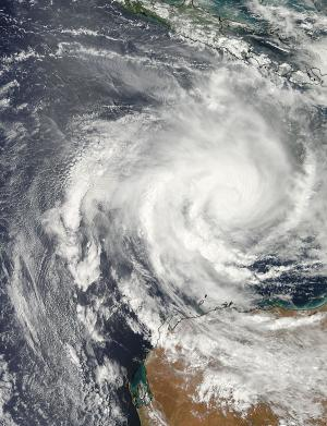 NASA sees Tropical Cyclone Narelle approaching Western Australia coast