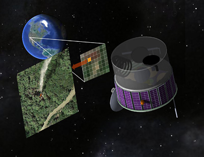 Scientists want a fire-spotting satellite
