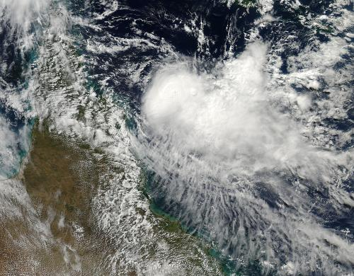 NASA sees Cyclone Zane bearing down on Queensland, Australia