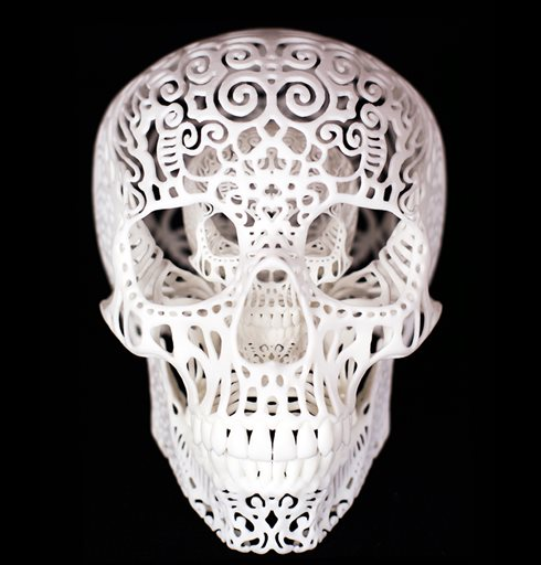 Exploring the artsy side of 3-D printing
