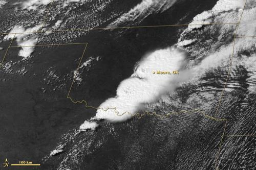 Satellites see storm system that created Moore, Okla., tornado