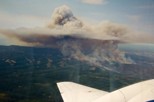 Smoke signals: Tracking the rapid changes of wildfire aerosols