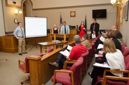 Student research: Job status, income factors in drug court success